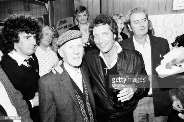 Tom Jones made a return to the Treforest non Political Club in Ponytpridd for a drink a dozen frenzied women burst into the menonly bar He is...