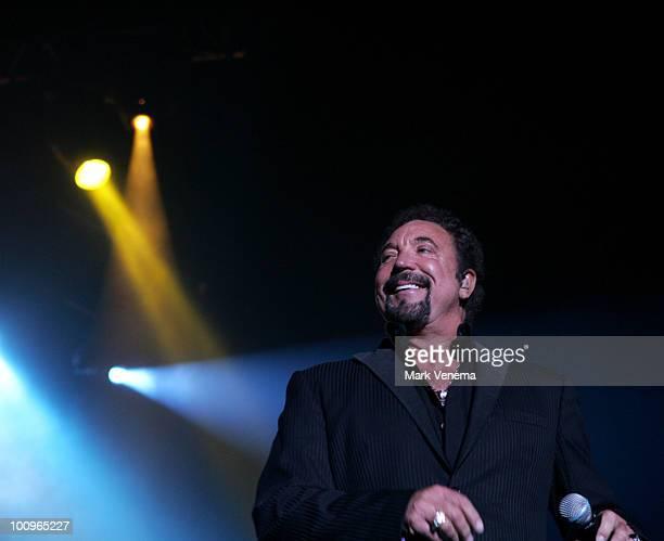 Tom Jones performs live at Heineken Music Hall on April 21 2007 in Amsterdam Netherlands