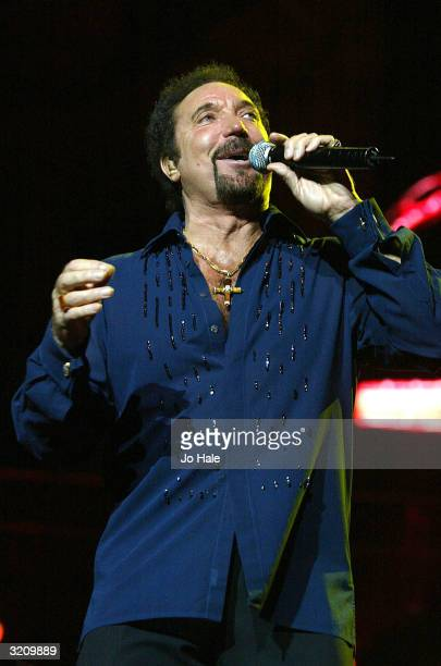 Tom Jones performs on stage during the fifth and final event as part of Roger Daltrey's annual series of Teenage Cancer Trust fundraising shows at...
