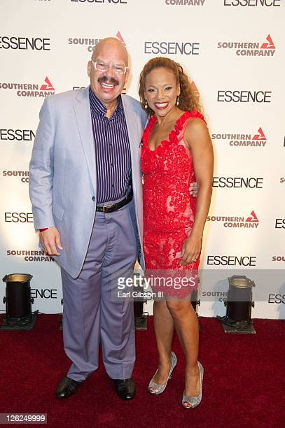Tom Joyner and wife Donna Richardson Joyner attend the 3rd annual Evening of Excellence at Ronald Reagan Building and International Trade Center on...