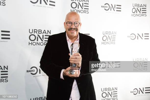 Tom Joyner receives Lifetime Achievement Award during 2018 Urban One Honors at The Anthem on December 9 2018 in Washington DC