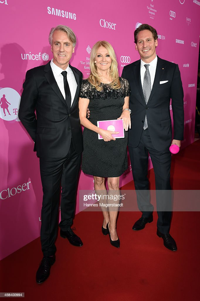 CLOSER Magazin Hosts SMILE Award 2014 : News Photo