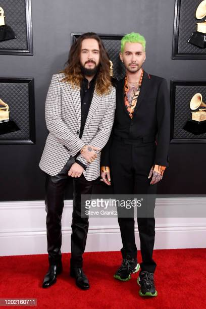 Tom Kaulitz and Bill Kaulitz attend the 62nd Annual GRAMMY Awards at Staples Center on January 26 2020 in Los Angeles California