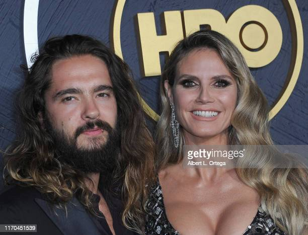 Tom Kaulitz and Heidi Klum arrive for the HBO's Post Emmy Awards Reception held at The Plaza at the Pacific Design Center on September 22, 2019 in...