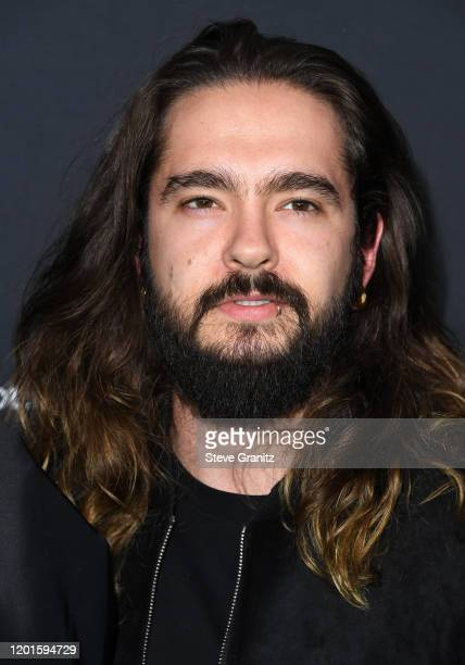 Tom Kaulitz arrives at the Spotify Best New Artist 2020 Party at The Lot Studios on January 23 2020 in Los Angeles California
