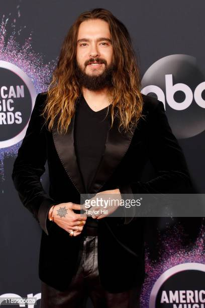 Tom Kaulitz attends the 2019 American Music Awards at Microsoft Theater on November 24 2019 in Los Angeles California