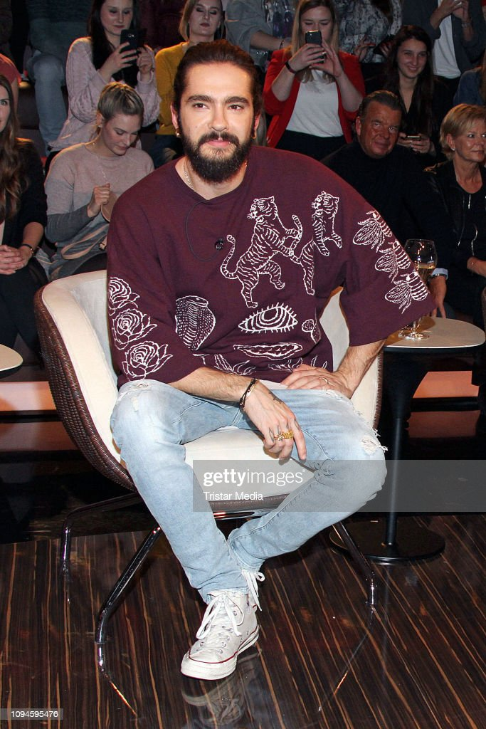 Tom Kaulitz Of The Band Tokio Hotel During The Markus Lanz Tv Show