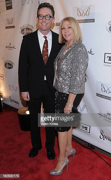 Tom Kenny and Nancee Borgnine attend The Borgnine Movie Star Gala at Sportsmen's Lodge Event Center on February 23 2013 in Studio City California