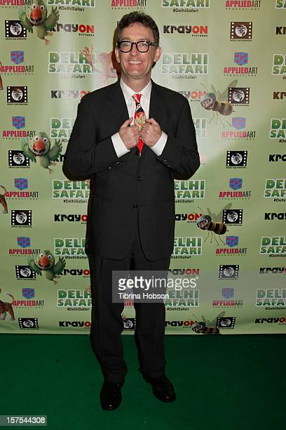 Tom Kenny attends the Delhi Safari Los Angeles premiere at Pacific Theatre at The Grove on December 3 2012 in Los Angeles California