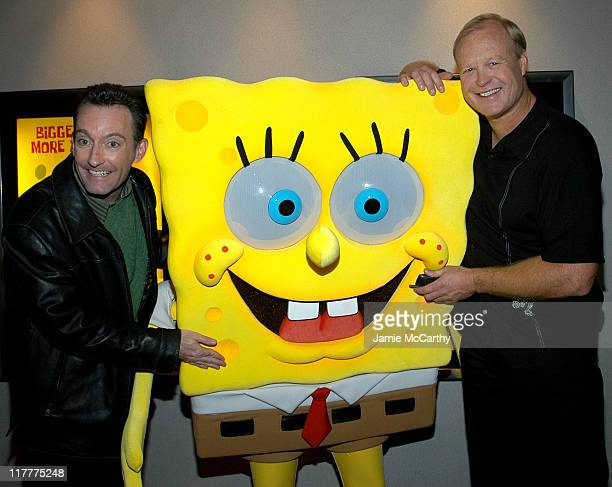 Tom Kenny the voice of 'SpongeBob SquarePants' and Bill Faggerbakke the voice of 'Patrick Starfish'