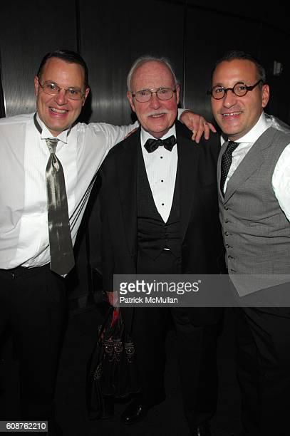 ?, Tom Kidd and Chip Kidd attend National Design Awards at Cooper-Hewitt National Design Museum N.Y.C on October 18, 2007.