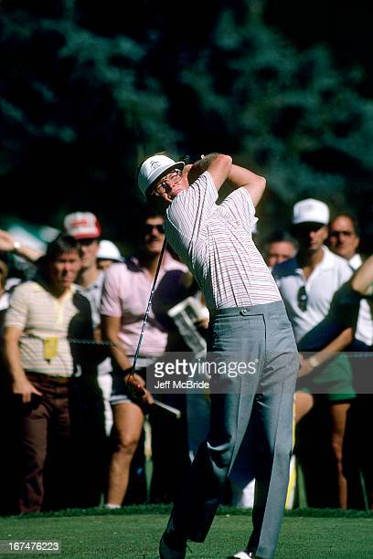Tom Kite during the 67th PGA Championship held at Cherry Hills Country Club in Englewood Colorado August 811 1985