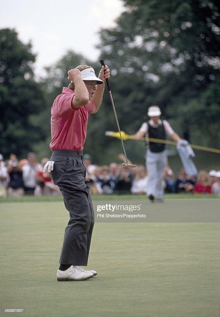 Tom Kite During The US Open : News Photo