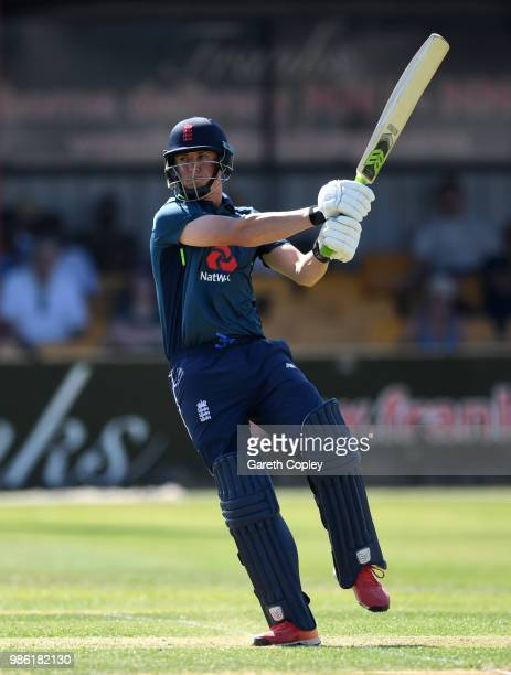 Tom KohlerCadmore of England Lions bats during the TriSeries International match between England Lions v West Indies A at The County Ground on June...