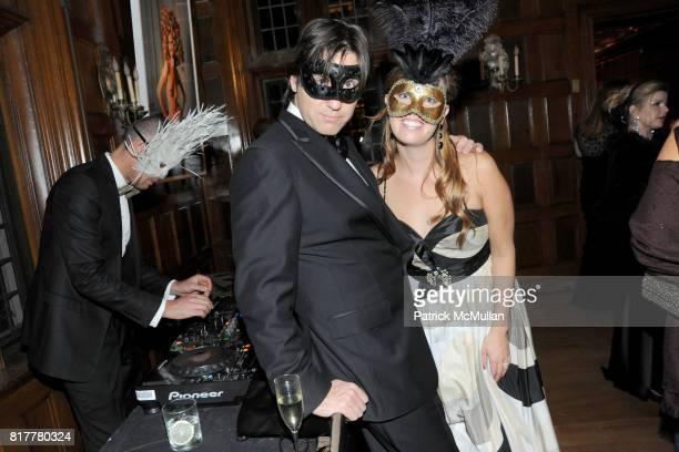 Tom Kopczynski and Nicole Arsenal attend VIP MASKED BALL for Susan G Komen Headlined by Sir Richard Branson Katie Couric Cornelia Guest HM Queen Noor...