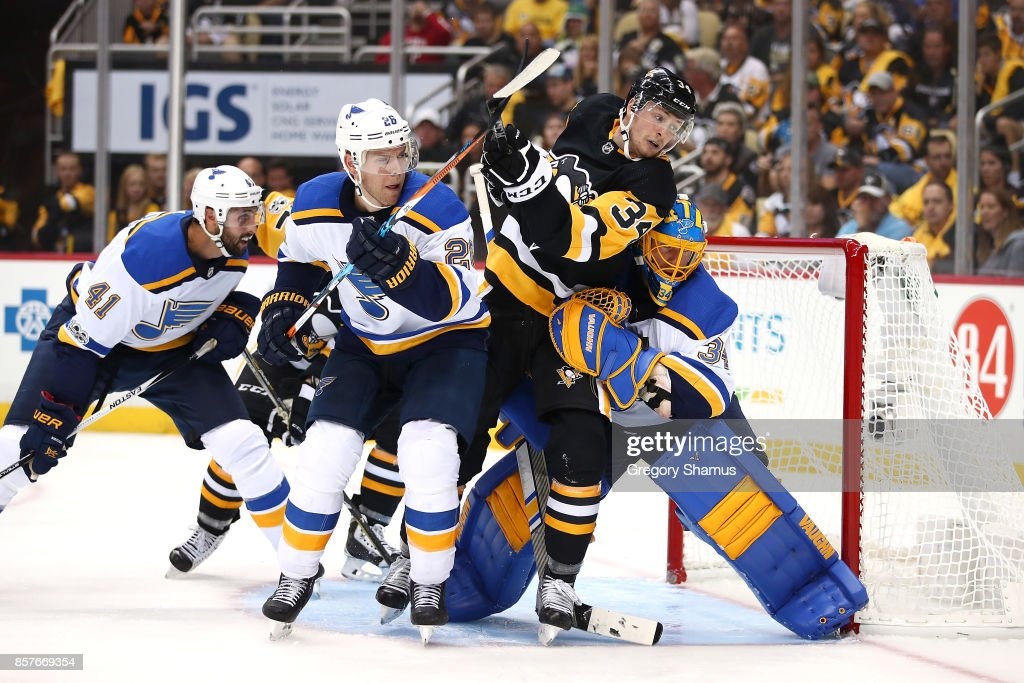 St Louis Blues v Pittsburgh Penguins : News Photo