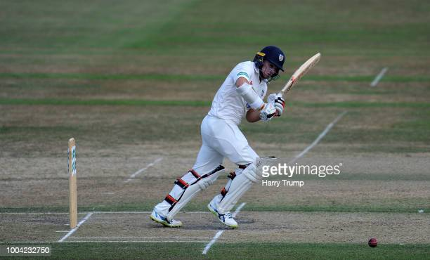 Tom Latham of Durham bats during Day Two of the Specsavers County Championship Division Two match between Gloucestershire and Durham at The College...