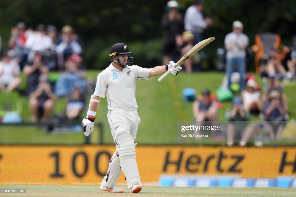 New Zealand v Sri Lanka - 2nd Test: Day 3 : ニュース写真