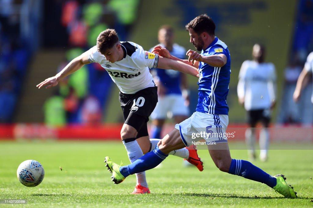 GBR: Birmingham City v Derby County - Sky Bet Championship