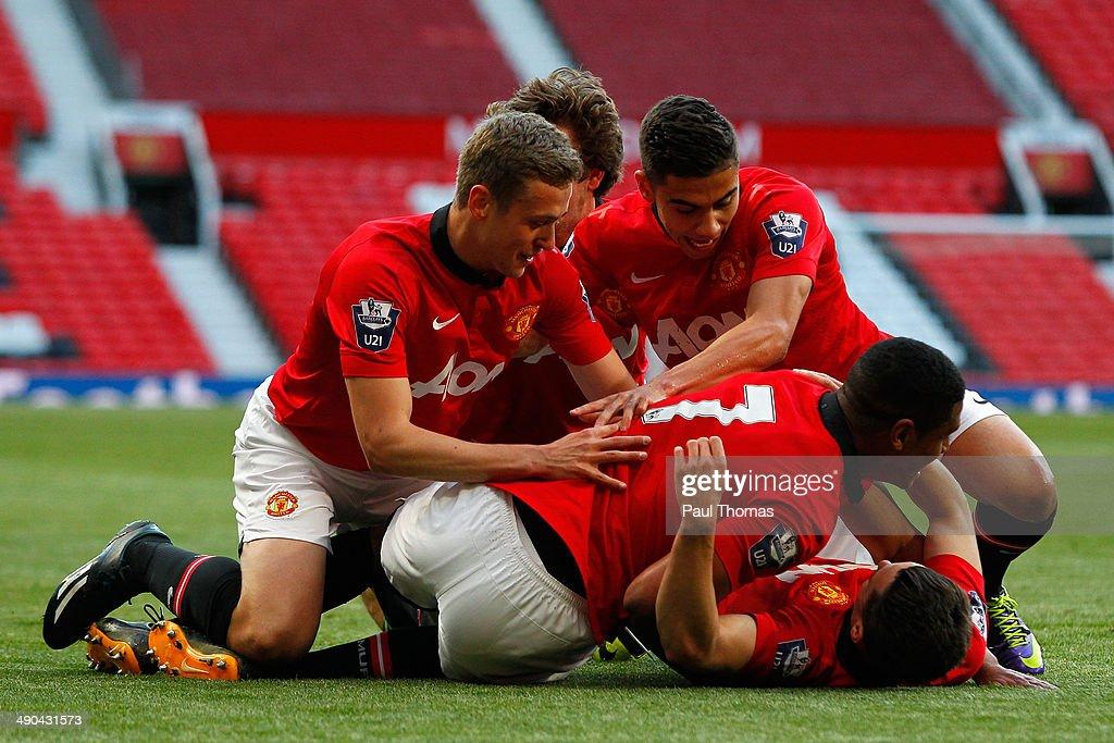 Manchester United v Chelsea - Barclays U21 Premier League Final : News Photo