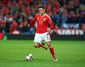 tom lawrence wales during fifa world