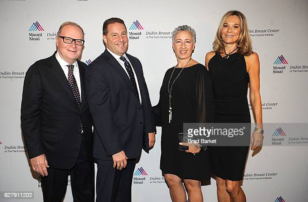Tom Lee Gene Genise Lilly Genise and Eva AnderssonDubin attend the Mount Sinai Dubin Breast Center Gala at Mandarin Oriental New York on December 5...
