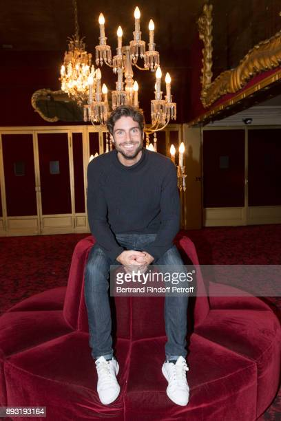 Tom Leeb attends 'Michel Leeb 40 ans' Theater Show at Casino de Paris on December 14 2017 in Paris France