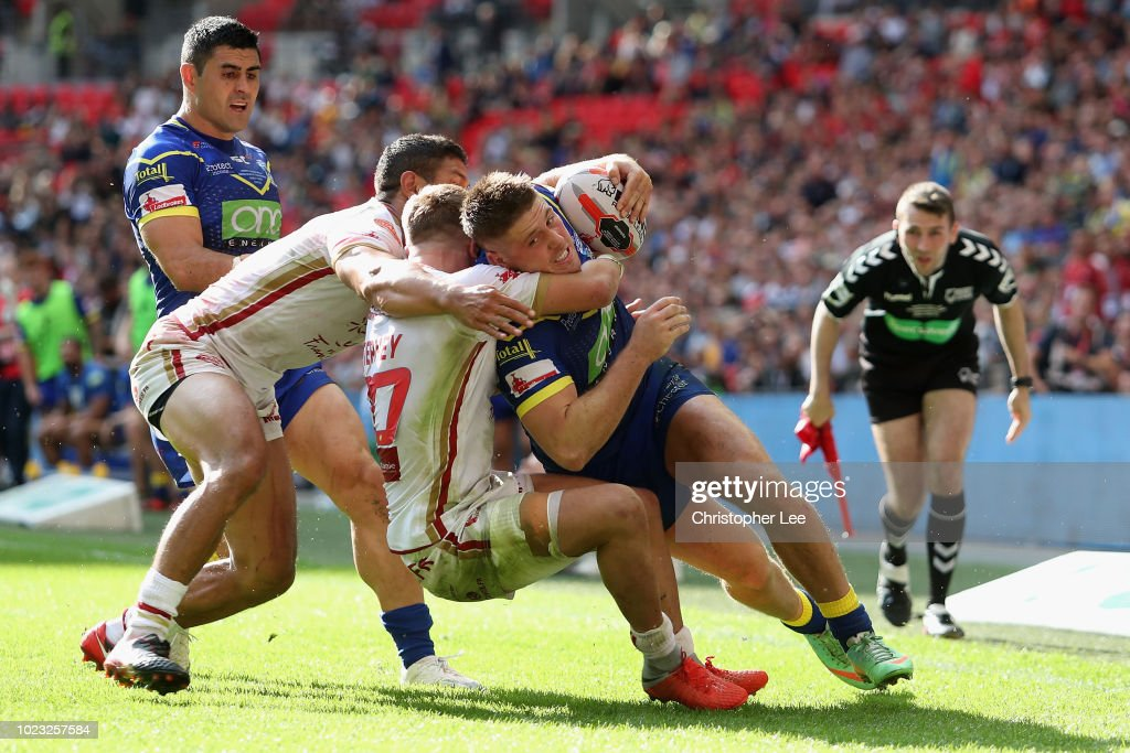 Catalans Dragons v Warrington Wolves - Ladbrokes Challenge Cup Final : News Photo