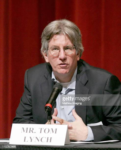 Tom Lynch during Humanitas Master Writers Workshop - March 3, 2006 at Leonard H. Goldenson Theatre in North Hollywood, California, United States.