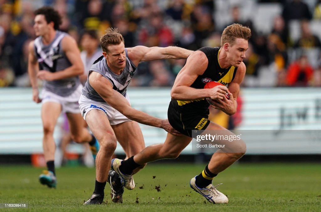 AFL Rd 18 - Richmond v Port Adelaide : News Photo
