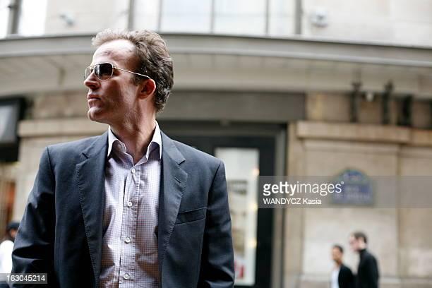 Tom Mac Carthy In Paris After The Deauville Film Festival 2008 Le réalisateur Tom MAC CARTHY à Paris de retour du 34e Festival du cinéma américain de...