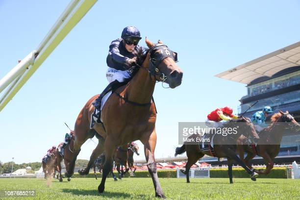 Tom Marquand on Movie Role wins race 1 during Sydney Racing at Royal Randwick Racecourse on December 29 2018 in Sydney Australia