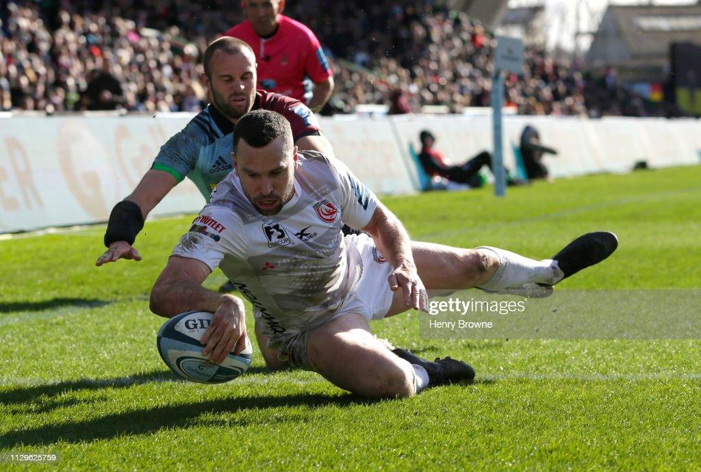 Harlequins v Gloucester Rugby - Gallagher Premiership Rugby : News Photo