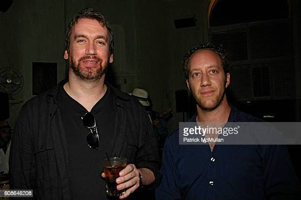 Tom McArdle and Joey Slotnick attend CAROLE RADZIWILL book party 'What Remains' at Socialista on June 19 2007 in New York City