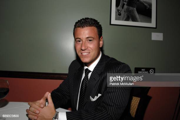 Tom McArdle attends the Ron Galella Book Party for 'Viva L'Italia' hosted by Patrick McMullan at the Pasta Bar at Ancora on September 22 2009 in New...