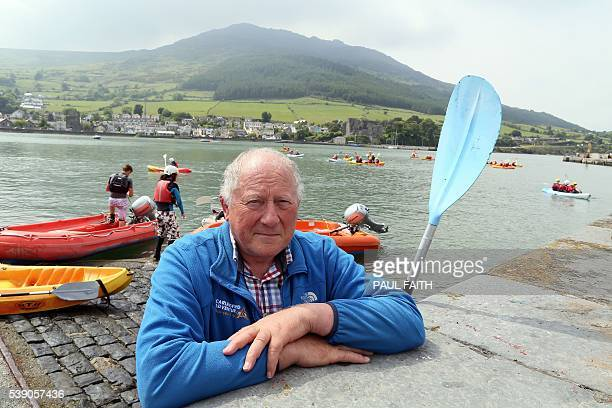 Tom McArdle from Carlingford adventure centre poses for a photograph in the Irish Republic on June 7 2016 The border that divides the island of...