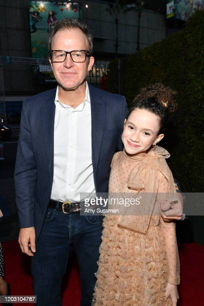 Tom McCarthy and Chloe Coleman attend the premiere of Disney's Timmy Failure Mistakes Were Made at El Capitan Theatre on January 30 2020 in Los...