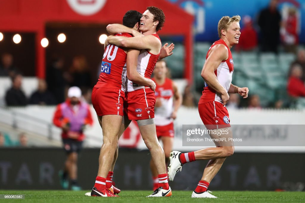 AFL Rd 9 - Sydney v Fremantle : News Photo