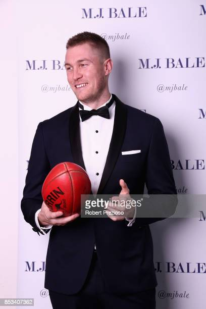 Tom McDonald attends the MJ Bale Brownlow Downlow at Crown Metropole Southbank on September 25 2017 in Melbourne Australia