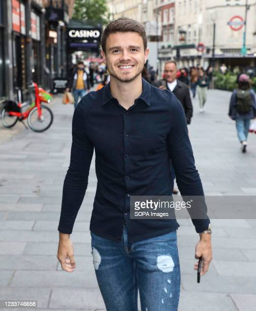 Tom McDonnell arrives for a special VIP screening of Fast & Furious 9 at the VUE West End in London.