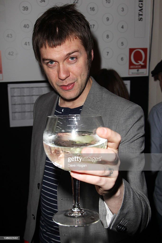 Tom Meighan of Kasabian arrives at the Q Awards 2010 held at The Grosvenor House Hotel on October 25, 2010 in London, England.