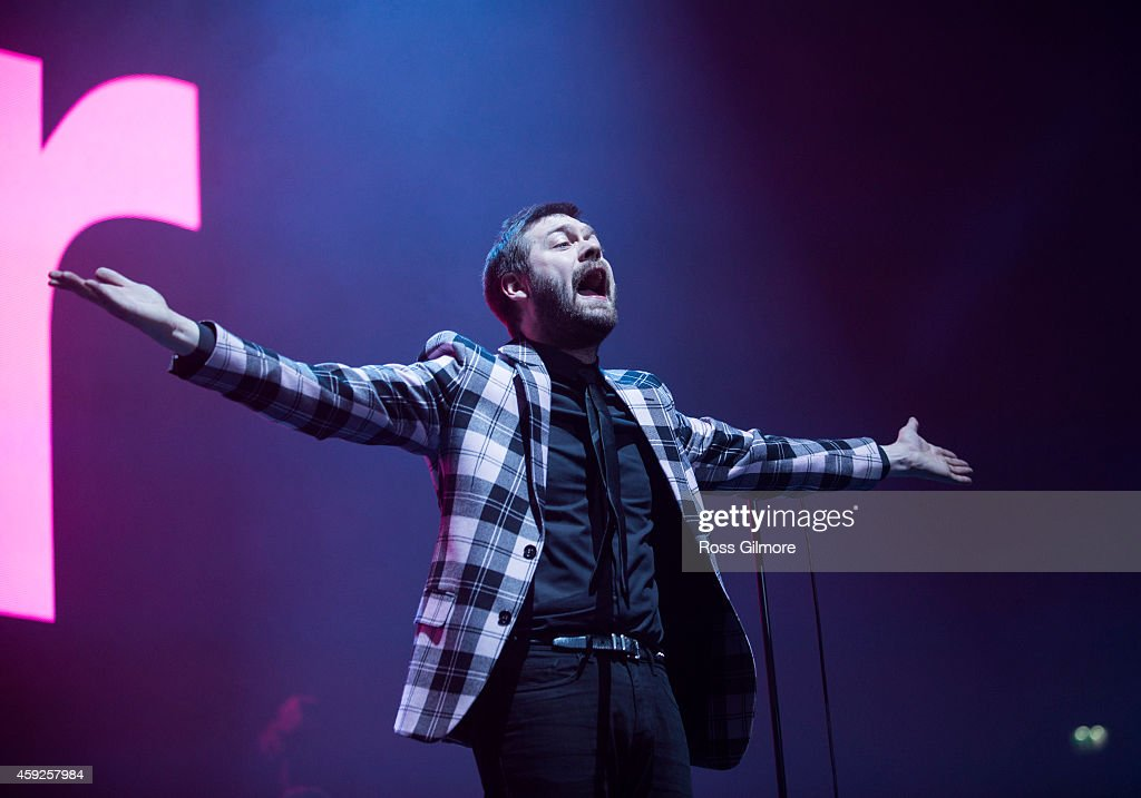 Kasabian & The Maccabees Perform At SSE Hydro In Glasgow : News Photo