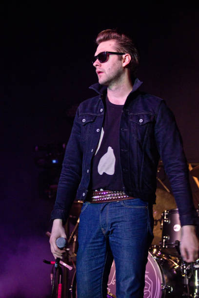 ITA: Tom Meighan With Kasabian Archive Pictures