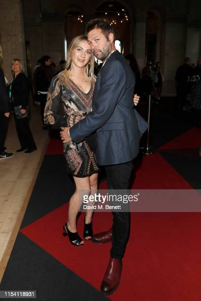 Tom Meighan with guest attend the World Premiere of Liam Gallagher As It Was at Alexandra Palace on June 06 2019 in London England