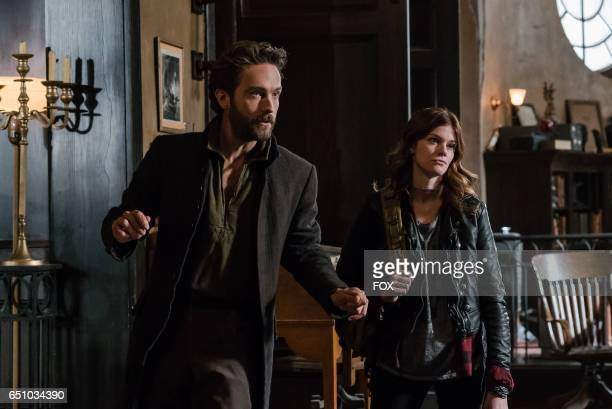 Tom Mison and Rachel Melvin in the Homecoming episode of SLEEPY HOLLOW airing Friday Feb 10 on FOX