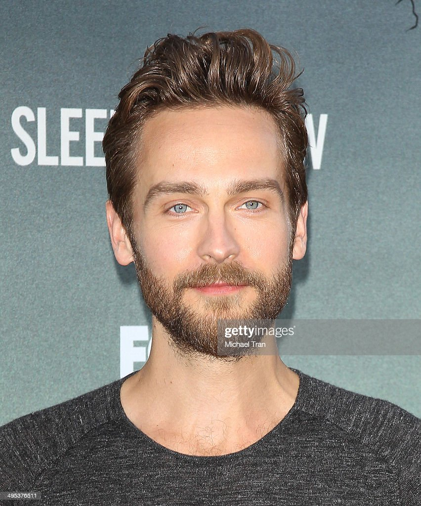 Tom Mison arrives at Fox's 'Sleepy Hollow' special screening held at Hollywood Forever on June 2, 2014 in Hollywood, California.