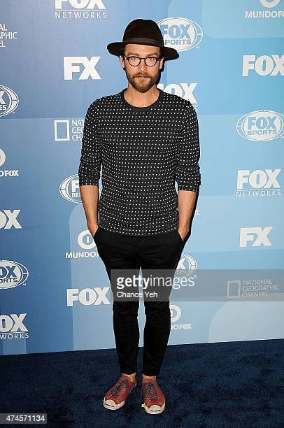 Tom Mison attends 2015 FOX Programming Presentation at Wollman Rink Central Park on May 11 2015 in New York City