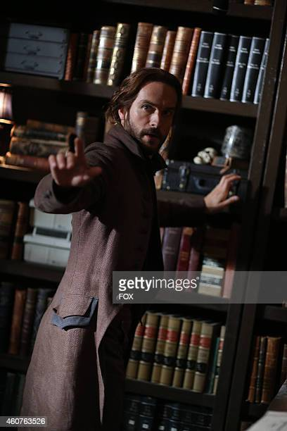 Tom Mison in the 'Magnum Opus' episode of SLEEPY HOLLOW airing Monday Nov 24 2014 on FOX