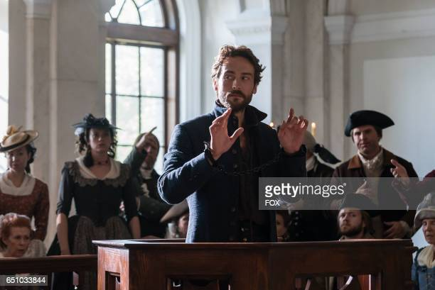 Tom Mison in the 'People v Ichabod Crane' episode of SLEEPY HOLLOW airing Friday Jan 27 on FOX