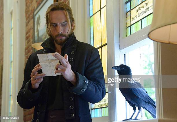 Tom Mison in the 'Weeping Lady' episode of SLEEPY HOLLOW airing Monday Oct 20 2014 on FOX